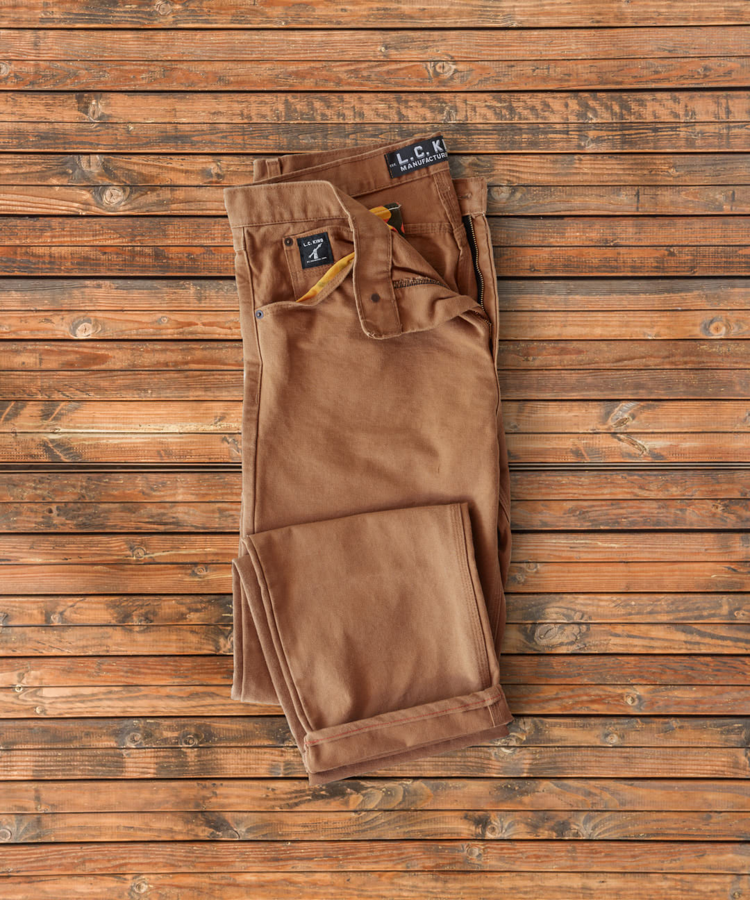 Brown Duck 5 Pocket Jean