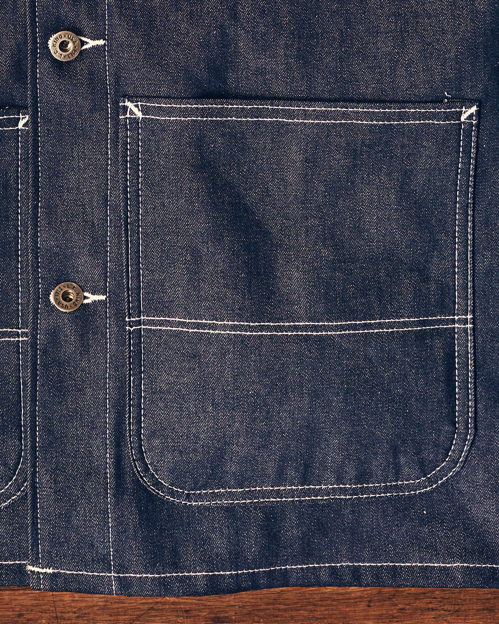 Rigid Denim Chore Coat
