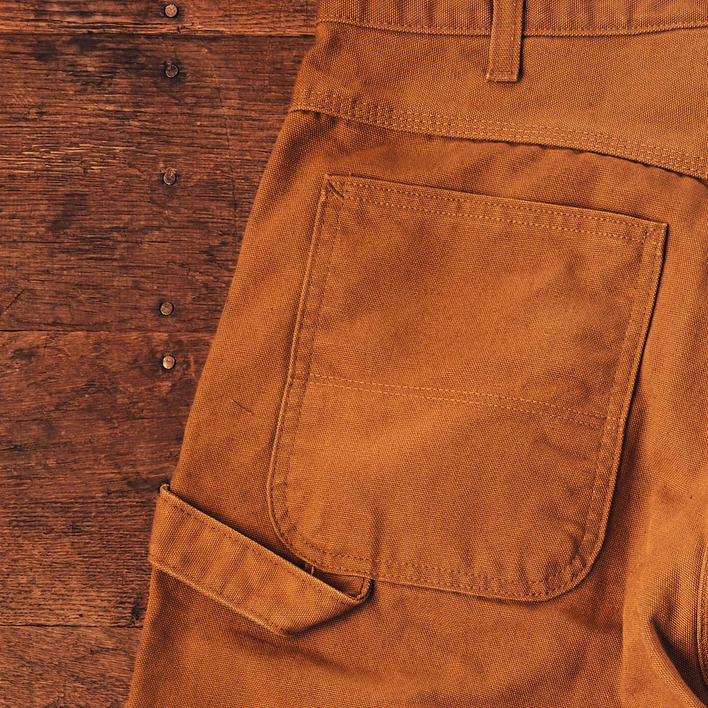Brown Duck Carpenter Pant