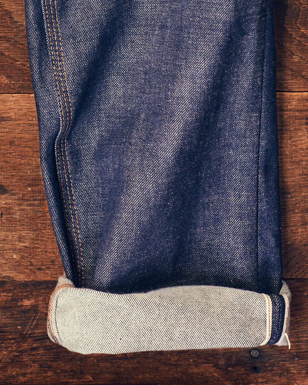 Rigid Denim Bristol 5 Pocket Jean - Selvedge