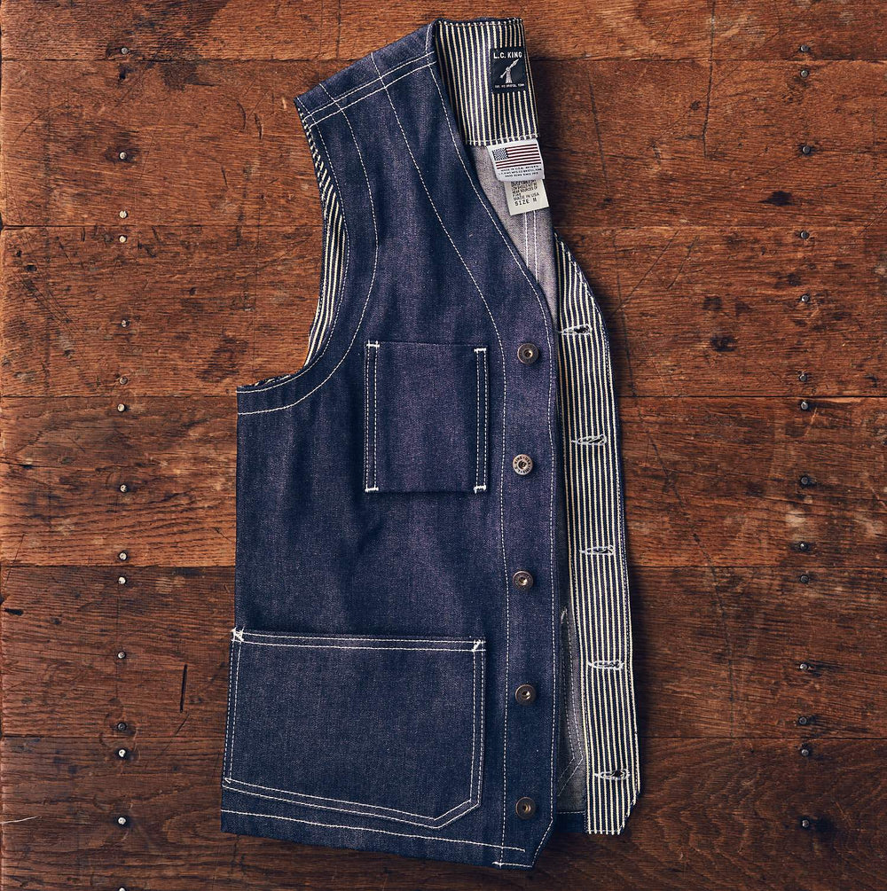 Rigid Denim Shelby Work Vest