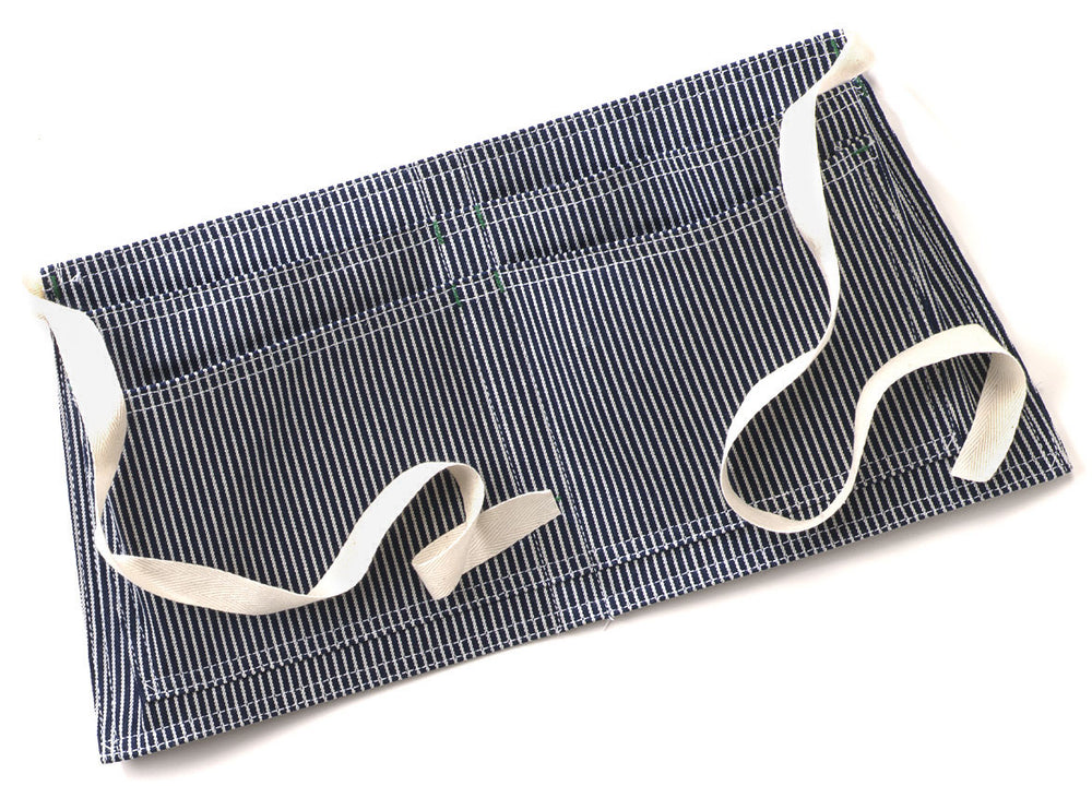 Hickory Stripe 4 Pocket Waist Apron