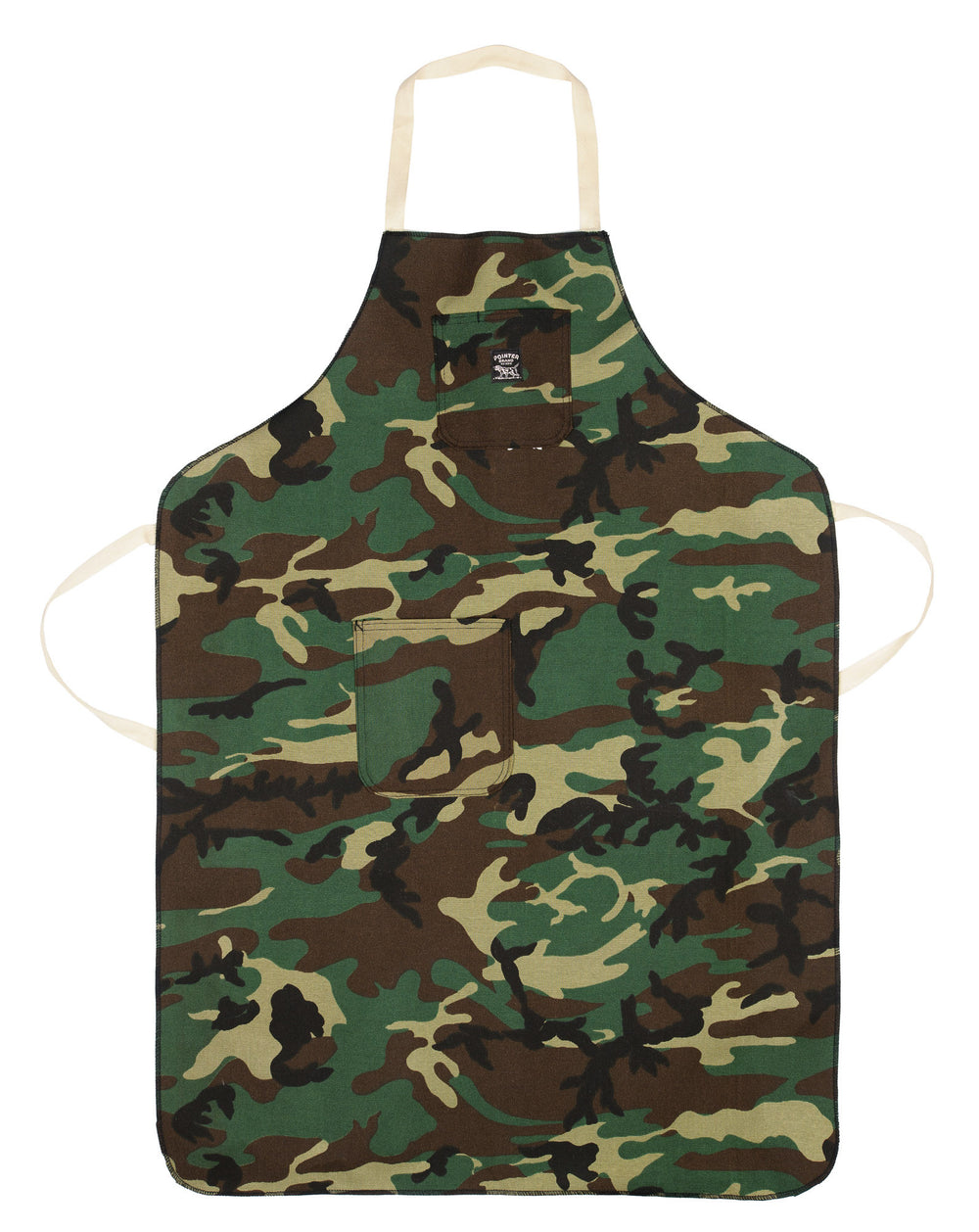 Woodland Camo Shop Apron