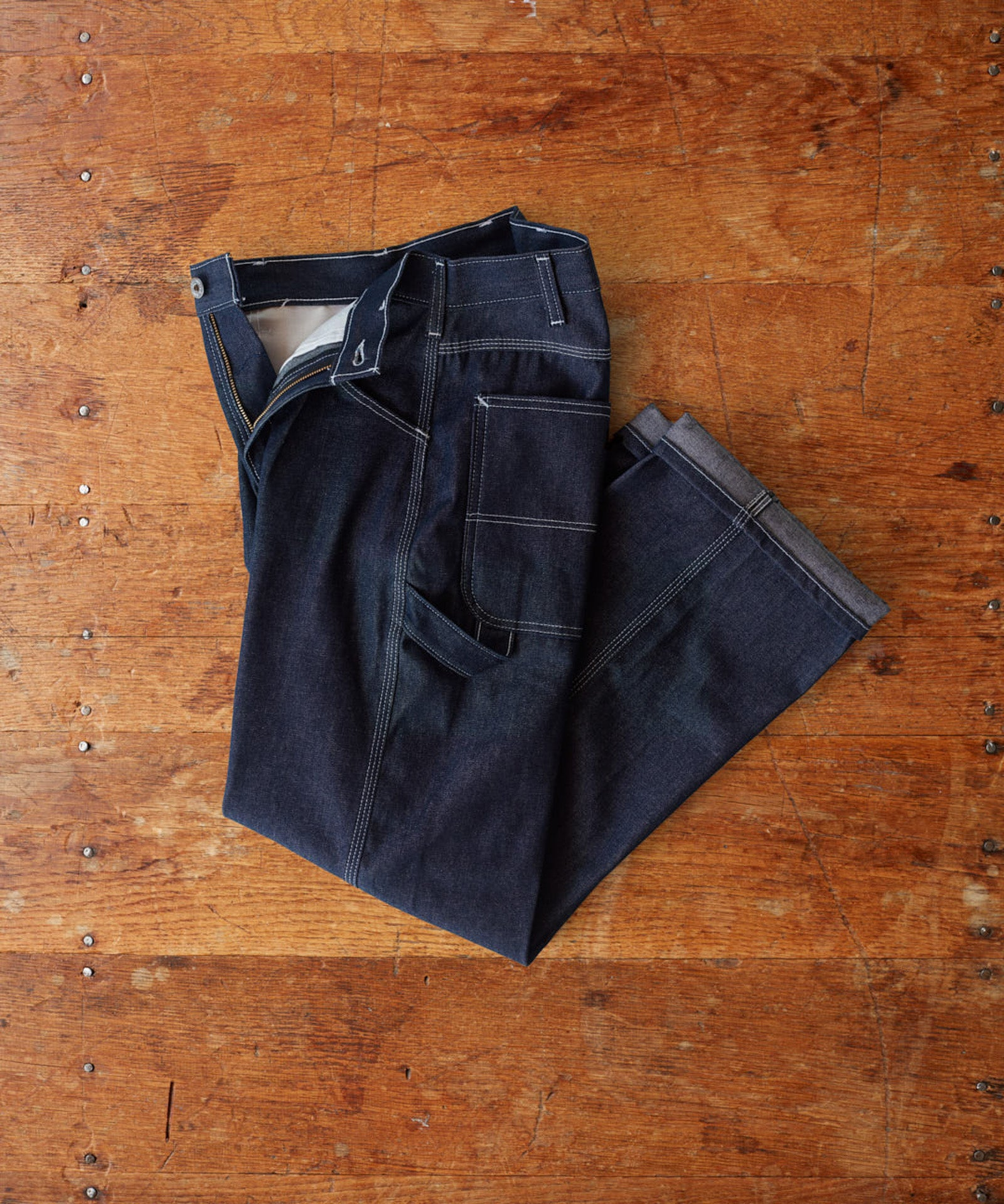 Rigid Denim Carpenter Pant