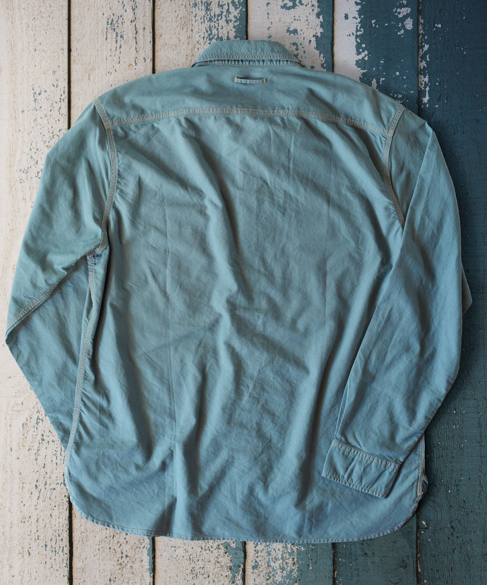 Teal DUCK Work Shirt