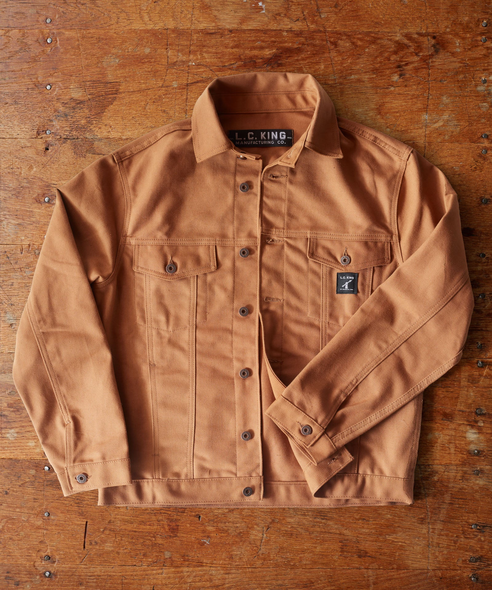 Brown Duck Western Jacket