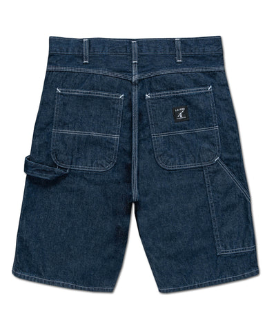 LC King  Indigo Denim Carpenter Shorts - Washed