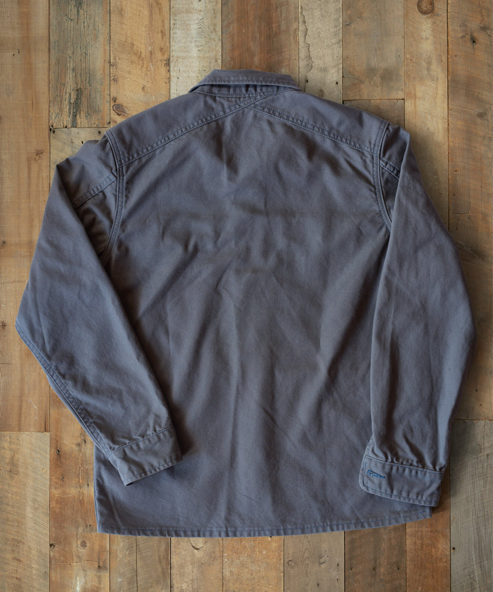 Grey Canvas Duck Utility Jacket