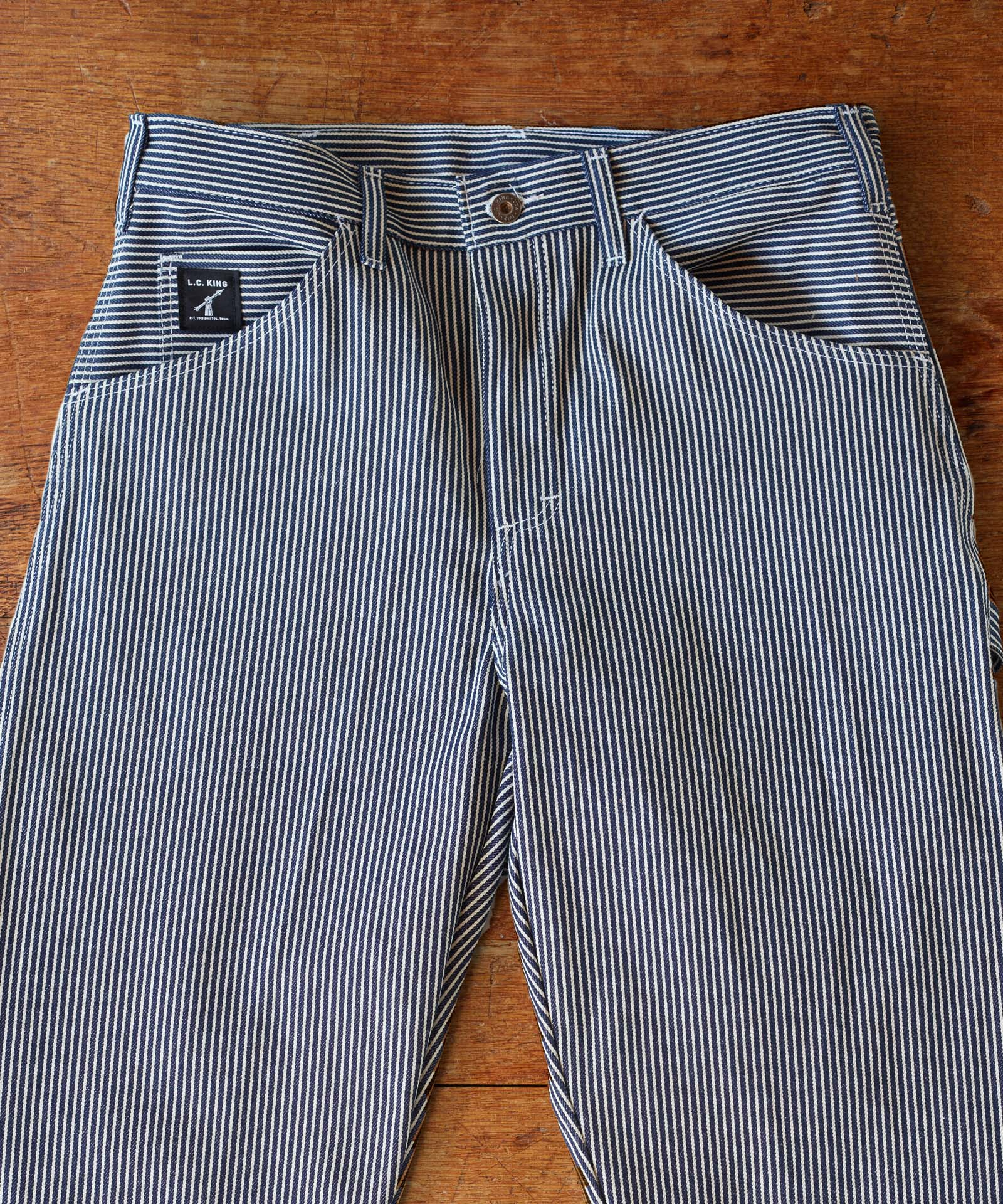 Hickory Stripe Carpenter Pant