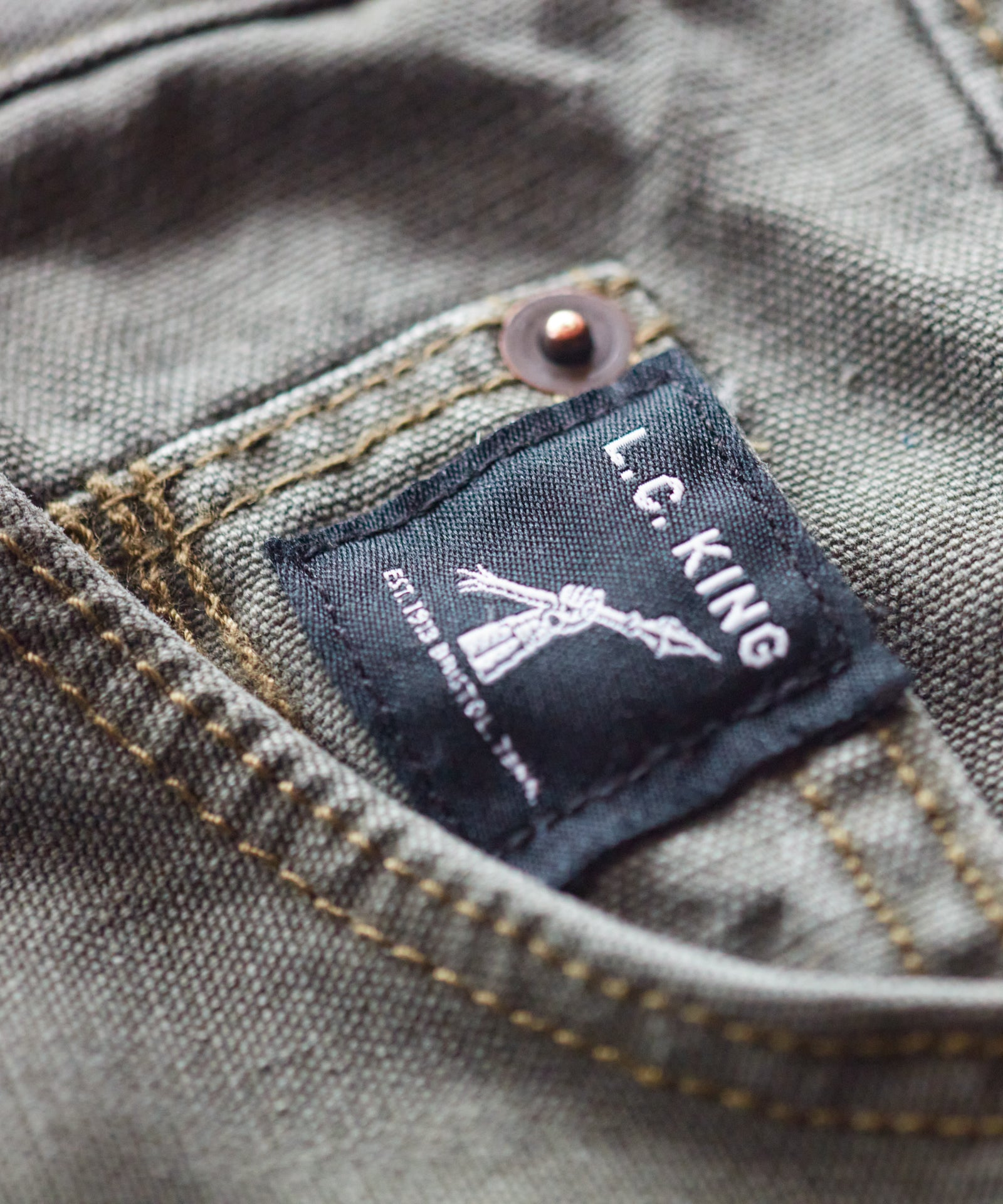 Olive Duck 5 Pocket Jean