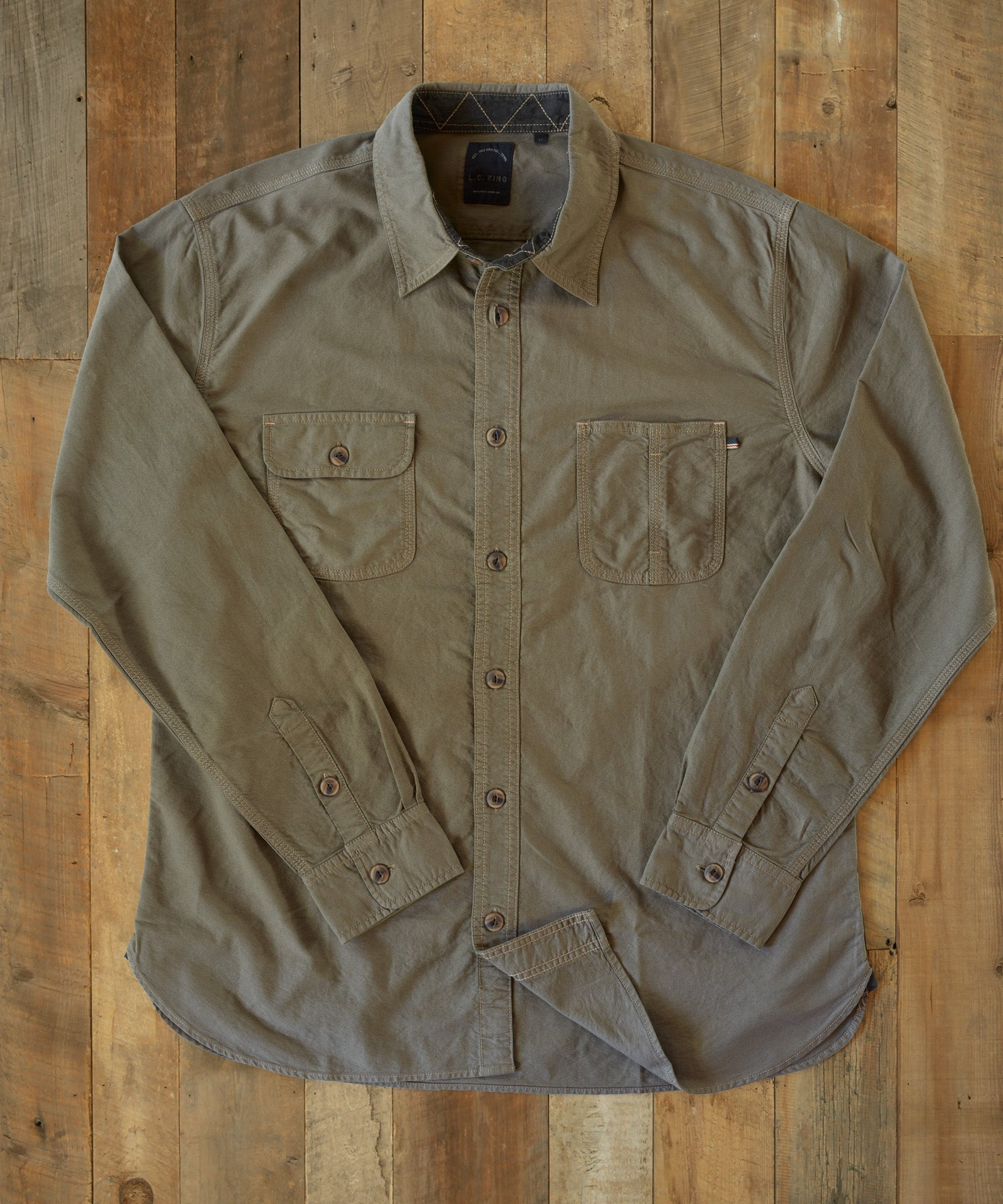 Olive DUCK Work Shirt