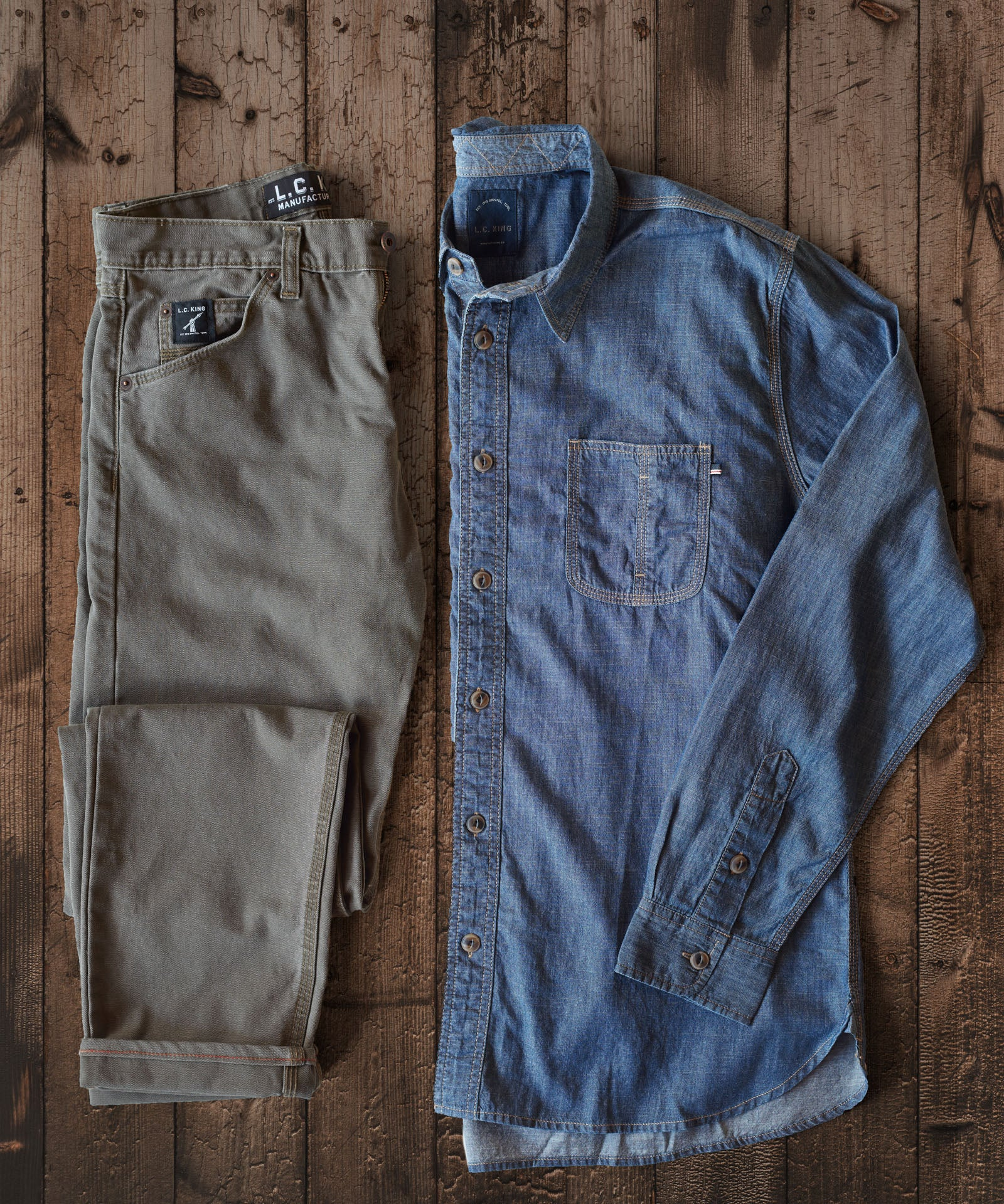 Perpetual Denim Work Shirt