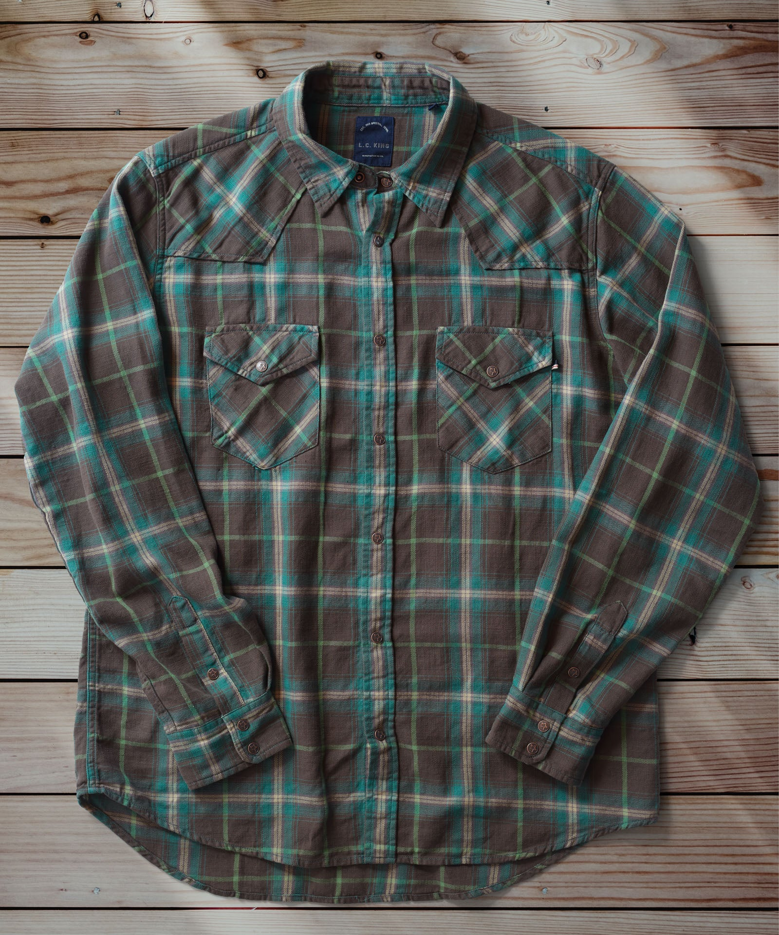 Smokey Pines Western Shirt