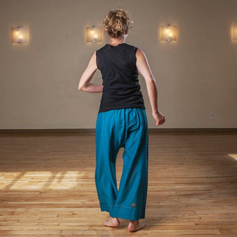 "Teal Length 1 Original Light Weight Dream Yoga Pants<br>Photo taken at <a href=""http://www.estheryoga.com"" target=""_blank"">Esther Myers Yoga Studio </a>in Toronto, Canada<br>Photography credit: Taralea Cutler of <a href=""http://archive.eyecontact.ca/portfolio"" target=""_blank"">Eye Contact Photography, Toronto </a>"