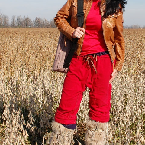 Warm...est! Dream Pants - Eco Fleece Warm Up Pants for Women
