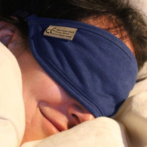 Blissfully Dark Bamboo Sleep Masks