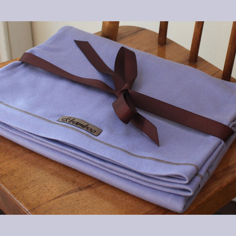 Bamboo Savasana Blanket / Wrap <br>colour: Lilac