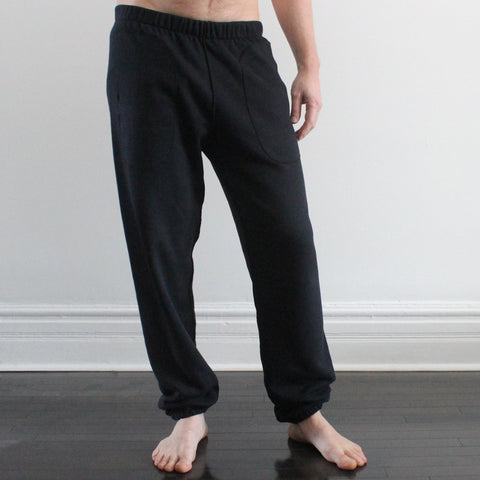 Sherpa Fleece Classic Track Pants for Men
