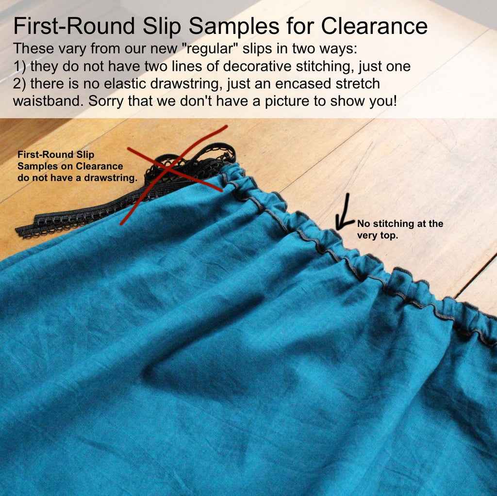Clearance: Assorted Colours of First-Round SLIPS