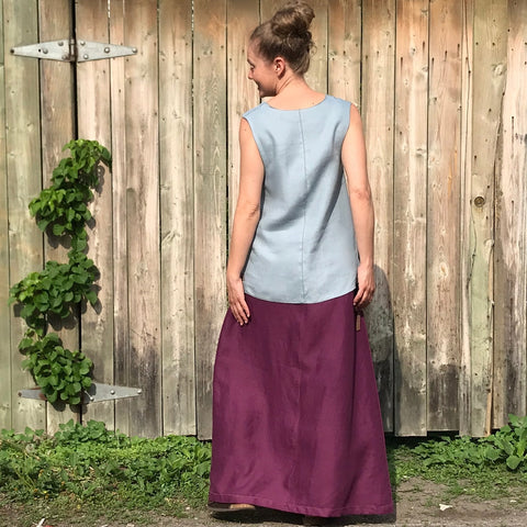 "Model is 5'5.5"" or 166cm 