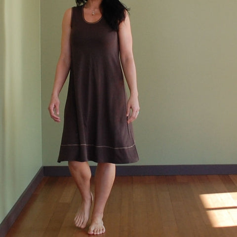 Bamboo Dress in Chocolate Brown (Chocolate Brown is Sold-Out, sorry!)