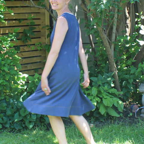 Bamboo Dress in Cobalt Blue (please note - cobalt blue is no longer available)
