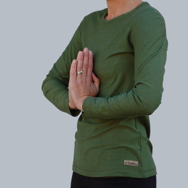 Bamboo Light Weight Long Sleeved T-Shirts for Women