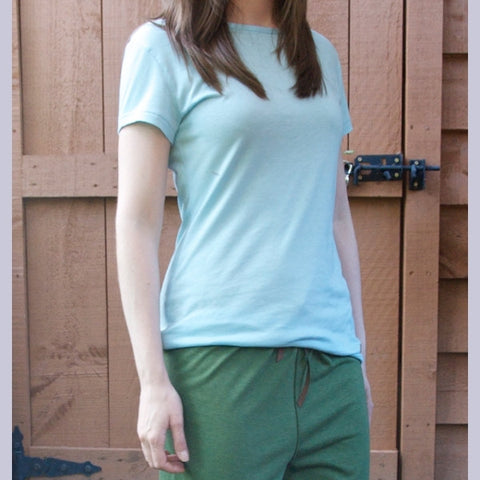 Bamboo Light Weight Short Sleeved T-Shirts for Women
