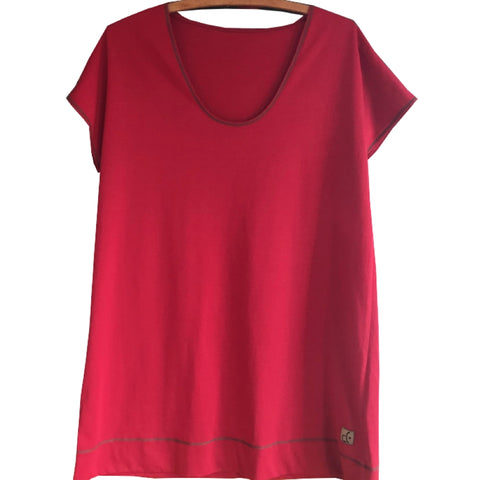 Instant Elegance Relaxed T-Shirts for Women