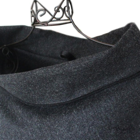 Collar of the Wool Capes (please note the hanging loop)