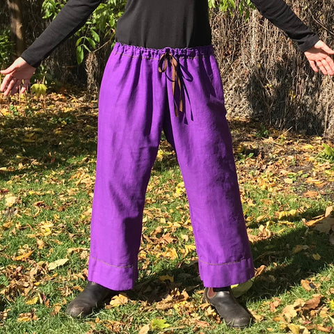 Double! Original Cotton Dream Pants (Two-Ply): Loose-Fitting Yoga Pants or Yoga Bloomers for Women - Rosie's List