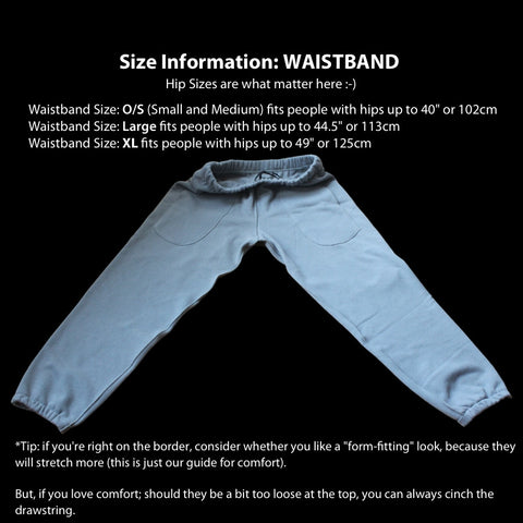 Size Information: WAISTBAND