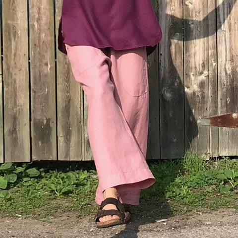 Linen TOWN Pants: Loose-Fitting Everyday Pants for Women - Rosie's List