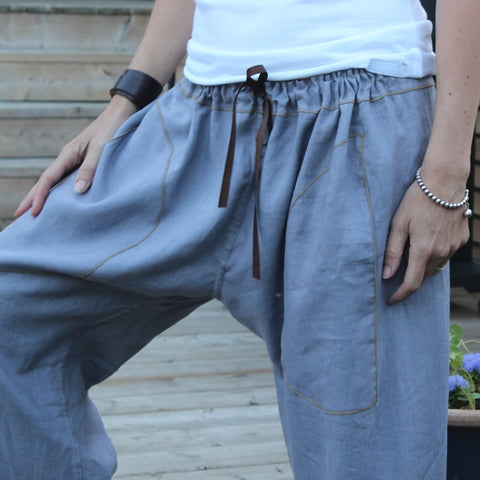 Linen Dream Pants: Loose-Fitting Yoga Pants for Women <br>this colour is no longer available, sorry!