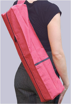 Hemp Easy-Load Single Strap Yoga Mat Bags