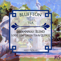 Bluffton Tea's Savannah Blend, Green Tea and Quince