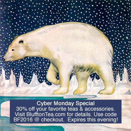 Bluffton Tea Polar Bear Cyber Monday