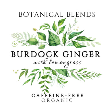 Burdock & Ginger with Lemongrass