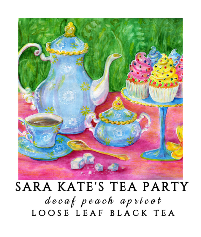 Decaf Sara Kate's Tea Party