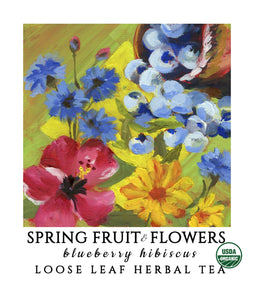 Spring Fruit & Flowers