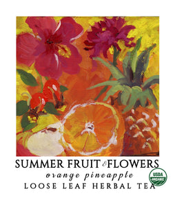 Summer Fruit & Flowers