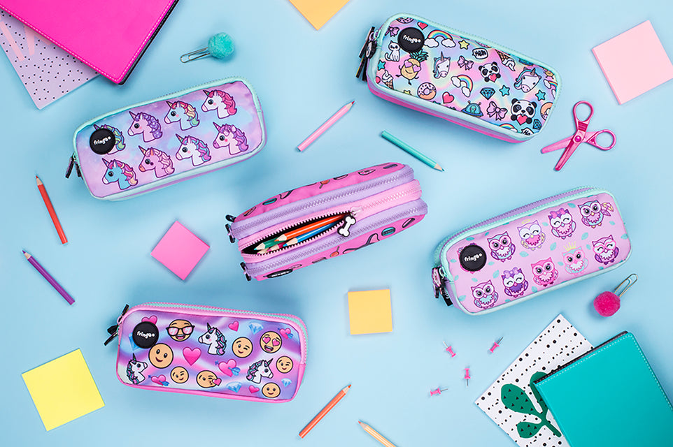unicorn pencil cases for girls