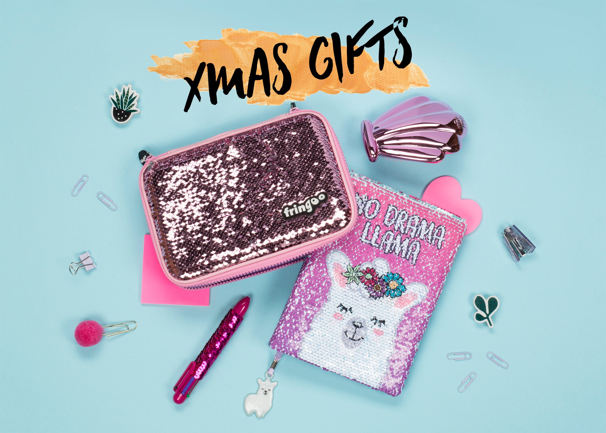 Shop sequin gifts at Fringoo