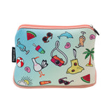 Large Printed Pencil Case - Awesome
