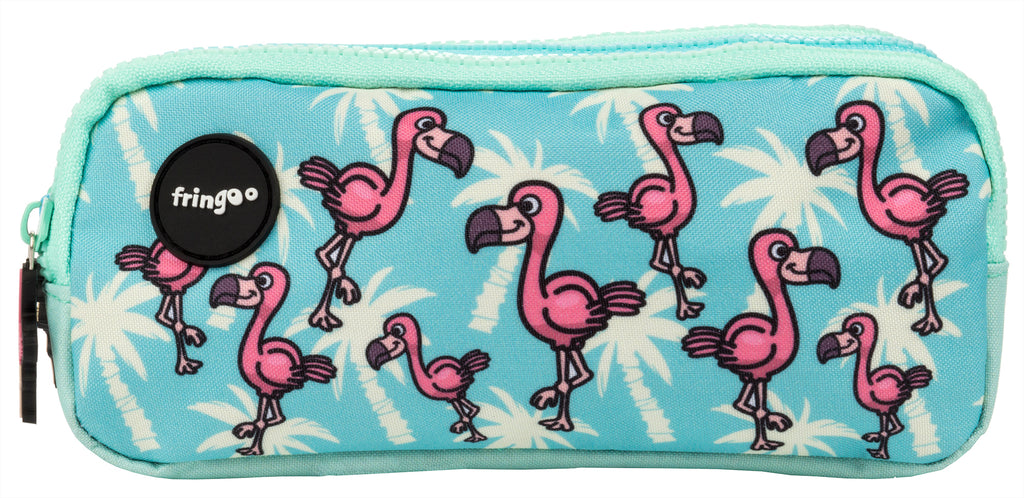 Flamingo Paradise Pencil Case