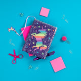 Sequin Notebook - Rainbow Unicorn