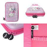 Hardtop Pencil Case - Pink Bow Tie Kitty