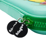 Green Dino Pencil Case