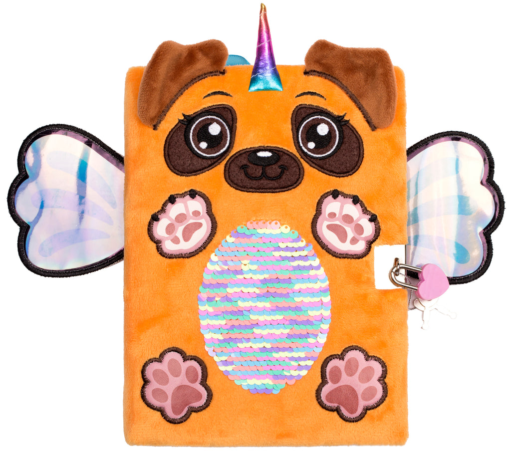 3D Secret Diary - Pug Wings