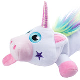 Rainbow Unicorn White Pencil Case